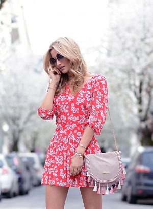 FLOWY FLORAL DRESS Image