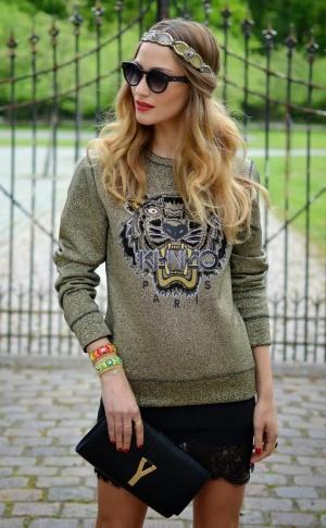 Kitty Sweatshirt Image